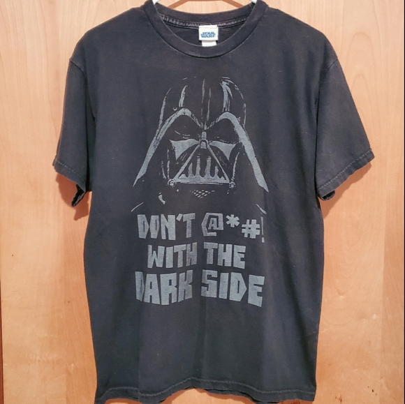 """Don't F*ck with the Dark Side"" Tee - M"